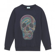 PASTEL SKULL KIDS SWEATER