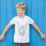 FINGERS KIDS CREW NECK T-SHIRT