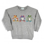 FROGS COLOUR CHANGE CAKO KIDS SWEATER