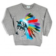 WOLF COLOUR CHANGE CAKO KIDS SWEATER