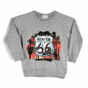 ROUTE 66 SHEILD COLOUR CHANGE CAKO KIDS SWEATER