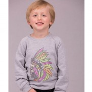 INDIAN HEADDRESS CAKO KIDS SWEATER