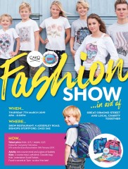 Charity Fashion Show Thursday 7th March 2019