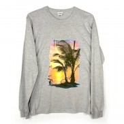 SUNSET ISLAND CAKO MENS LONG SLEEVE T-SHIRT