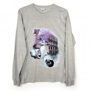ROMA VESPA CAKO MENS LONG SLEEVE T-SHIRT