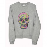 FLUO SKULL CAKO MENS BEJEWELLED SWEATER