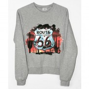 ROUTE 66 SHEILD CAKO MENS SWEATER