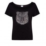 TIGER CAKO BEJEWELLED SLOUCH