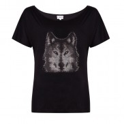 WOLF CAKO BEJEWELLED SLOUCH