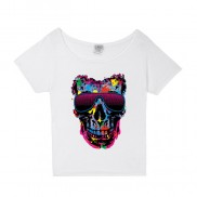 SUNGLASSES SKULL COLOUR CHANGE SLOUCH