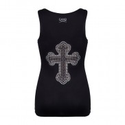 CROSS ON BACK CAKO BEJEWELLED VEST