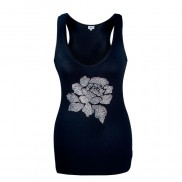ROSE CAKO BEJEWELLED VEST