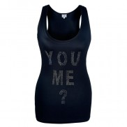 YOU ME CAKO BEJEWELLED VEST