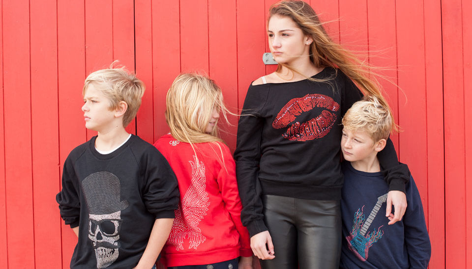 Cako Kids Bejewelled Sweaters & Hoodies Look Book