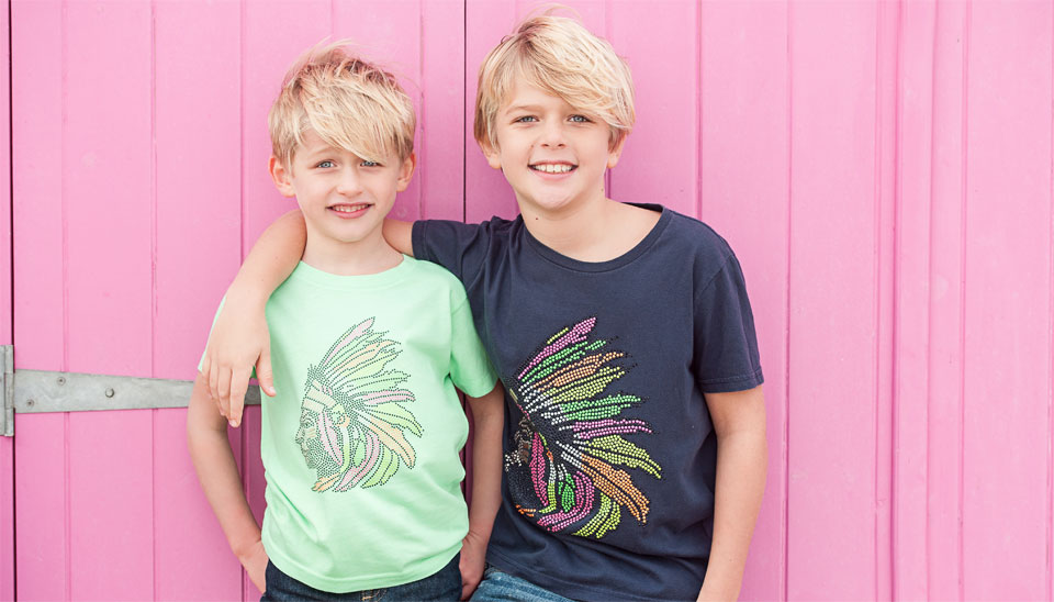 Cako Kids Bejwelled T-shirts Look Book